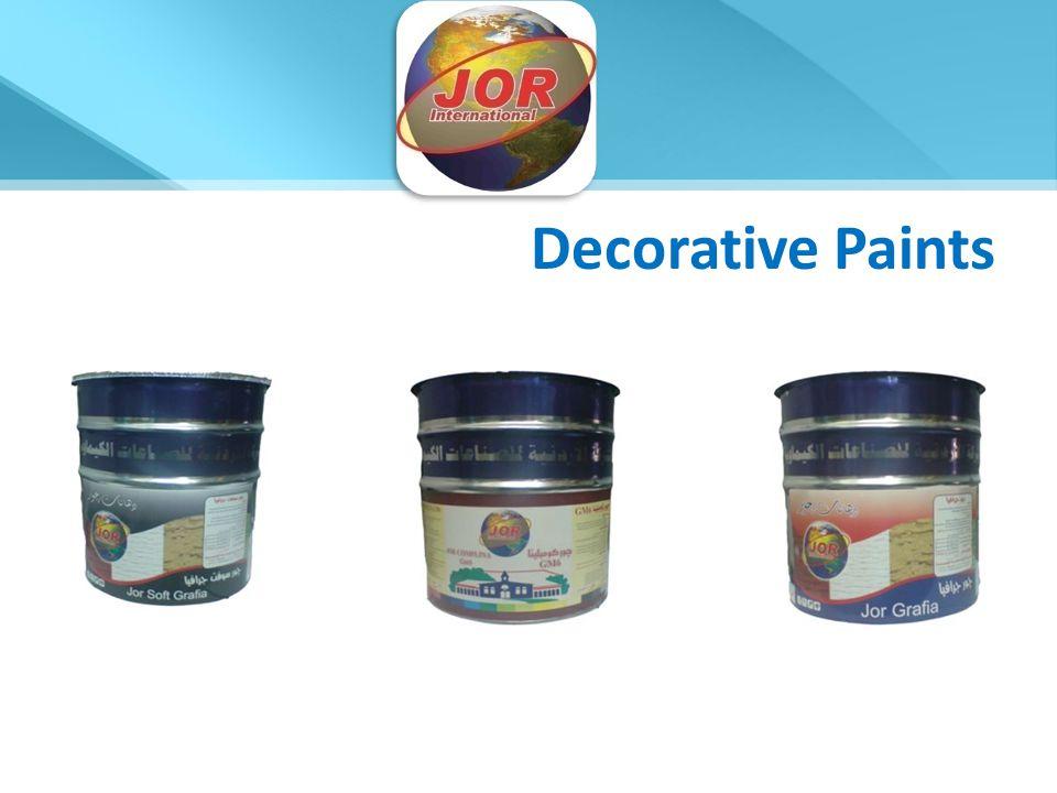 Decorative Paints