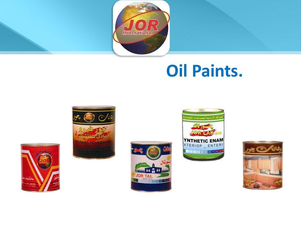 Oil Paints.