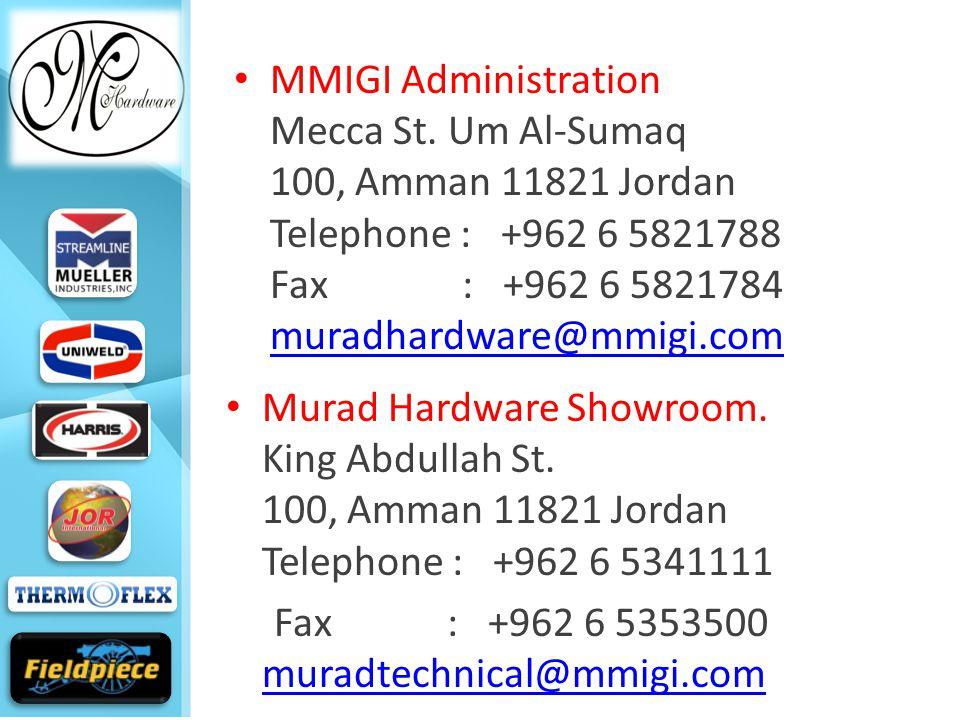 MMIGI Administration Mecca St.
