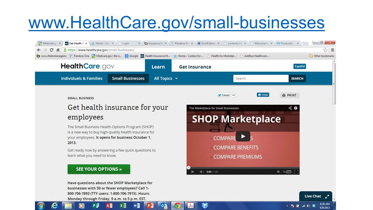 www.HealthCare.gov/small-businesses