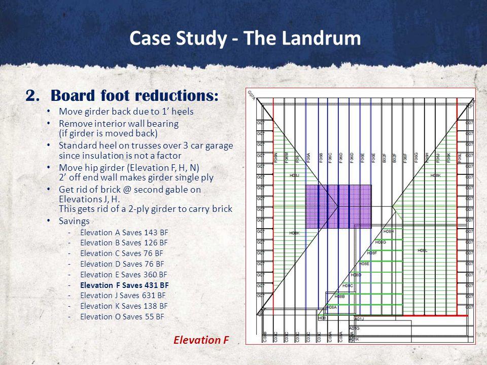 Case Study - The Landrum 2.