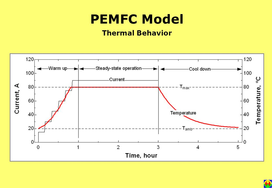 PEMFC Model Thermal Behavior