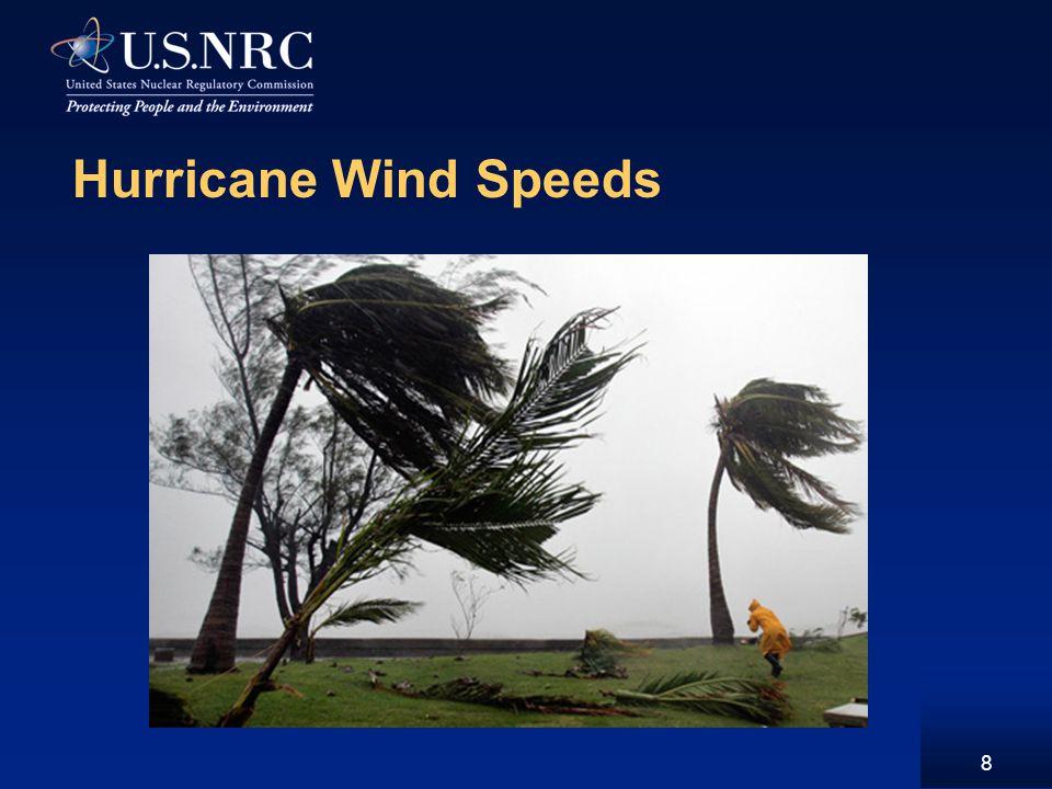 Hurricane Wind Speeds 8