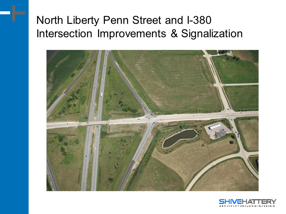 North Liberty Penn Street and I-380 Intersection Improvements & Signalization