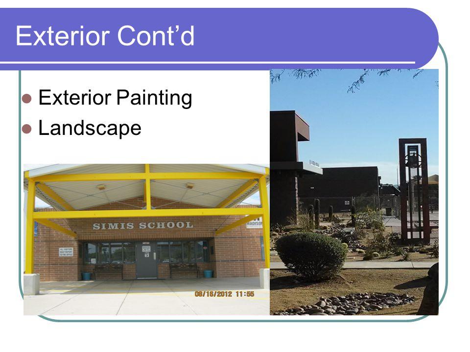 Exterior Cont'd Exterior Painting Landscape