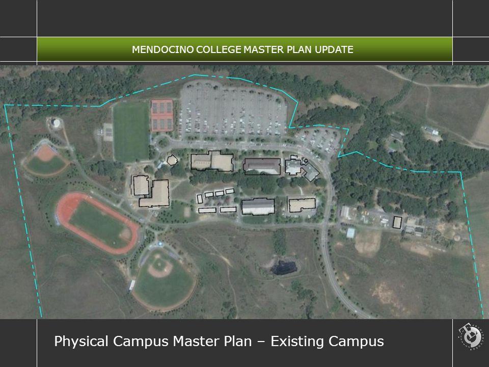 MENDOCINO COLLEGE MASTER PLAN UPDATE Physical Campus Master Plan – Existing Campus