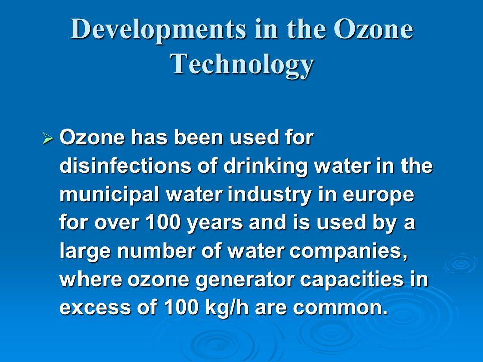 If oxidizable chemicals are present in the water, even more Ozone will dissolve to satisfy the demand.