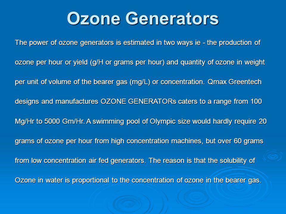Oxidizing Potential of Various Reagents Oxidizing Reagent Oxidizing Potential Ozone2.07 Hydrogen Peroxide 1.77 Permanganate1.67 Chlorine Dioxide 1.57 Hypochlorous acid 1.49 Chlorine Gas 1.36 Hypobromous acid 1.33 Oxygen1.23 Bromine1.09 Hypoiodous acid 0.99 Hypochlorite0.94 Chlorite0.76 Iodine0.54