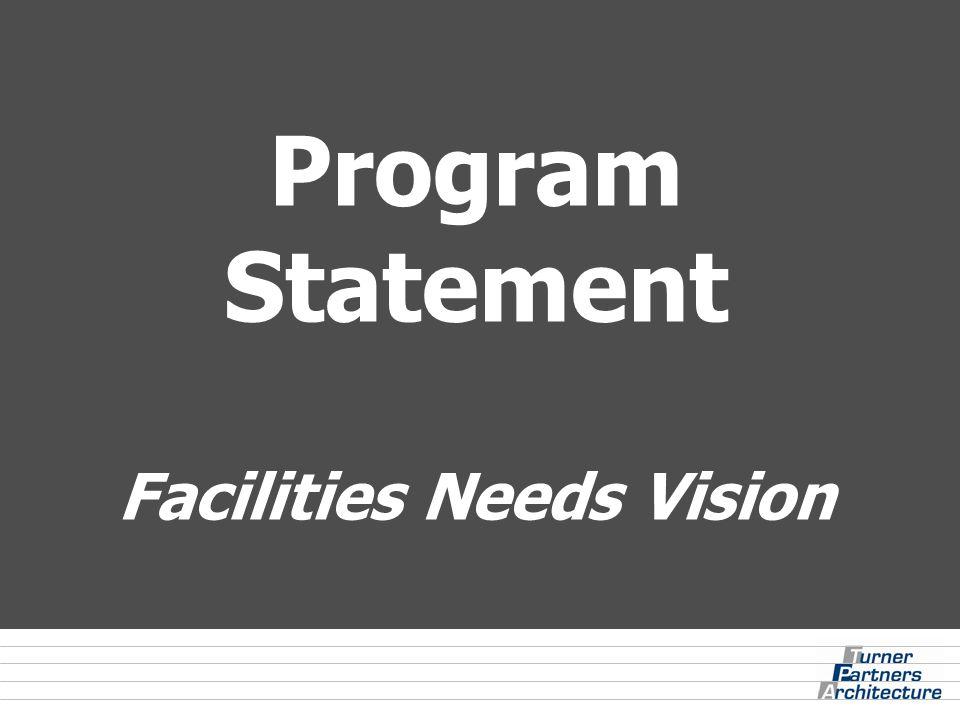 Program Statement Facilities Needs Vision