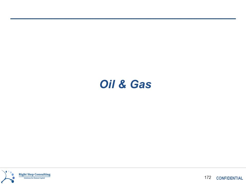 CONFIDENTIAL 172 Oil & Gas
