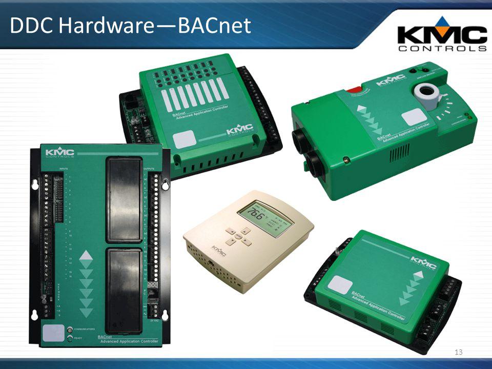 DDC Hardware—BACnet 13
