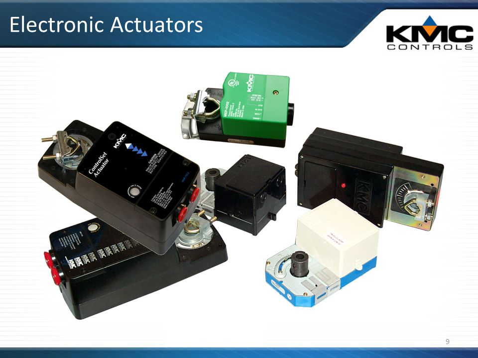 Electronic Actuators 9