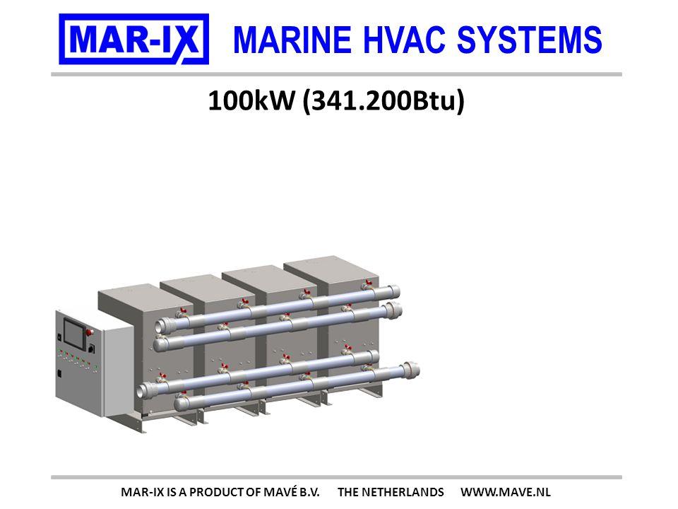 MARINE HVAC SYSTEMS 125kW (426.500Btu) MAR-IX IS A PRODUCT OF MAVÉ B.V. THE NETHERLANDS WWW.MAVE.NL