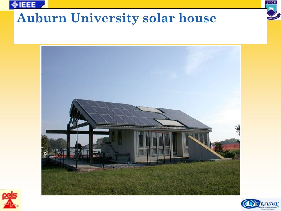 40/63 Auburn University solar house