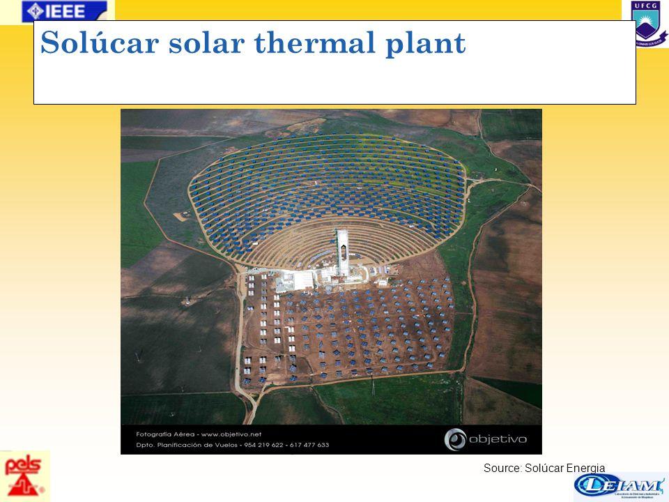 43/63 Solúcar solar thermal plant Source: Solúcar Energia