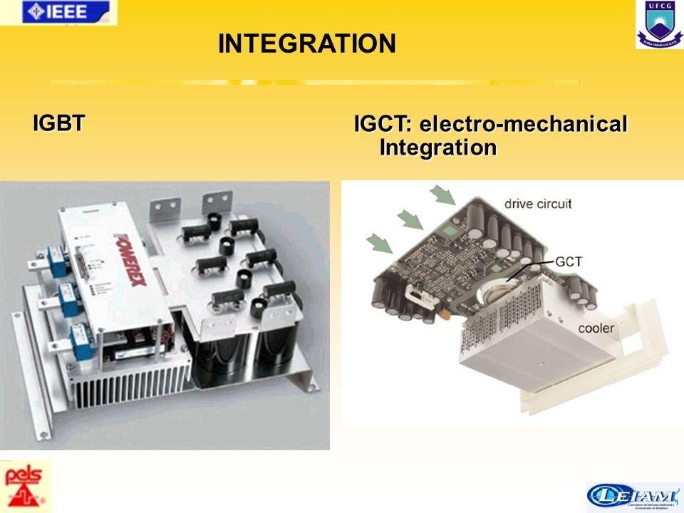 80/63 IGBT IGCT: electro-mechanical Integration INTEGRATION