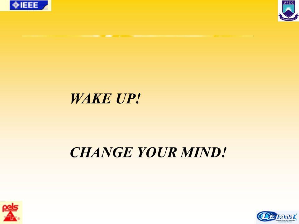 86/63 WAKE UP! CHANGE YOUR MIND!