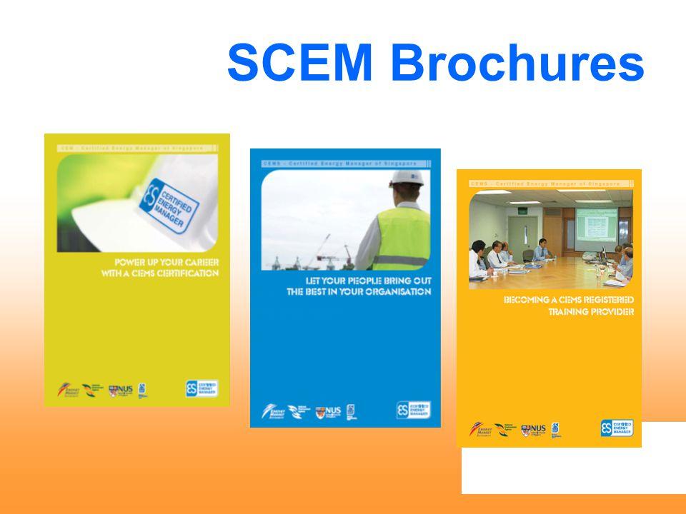 SCEM Brochures