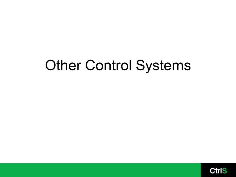 Other Control Systems