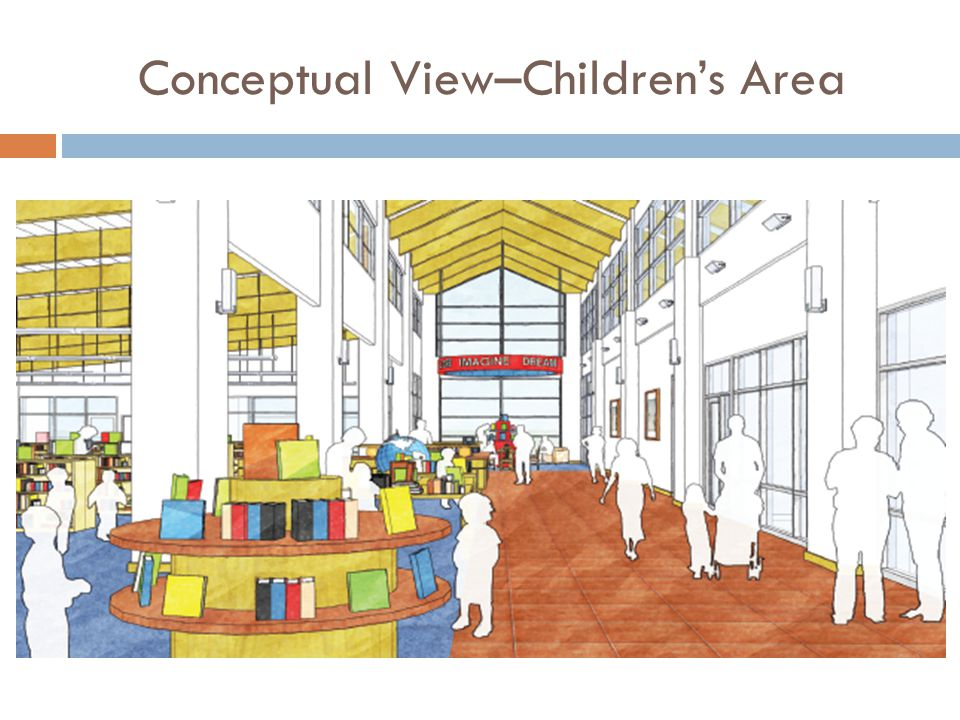Conceptual View–Children's Area