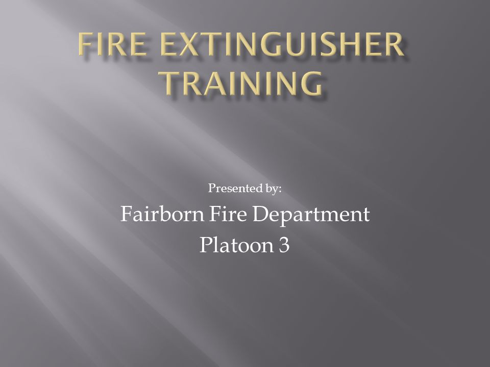 1.Fire discovery 2. Determine size 3. Determine the type of fire 4.