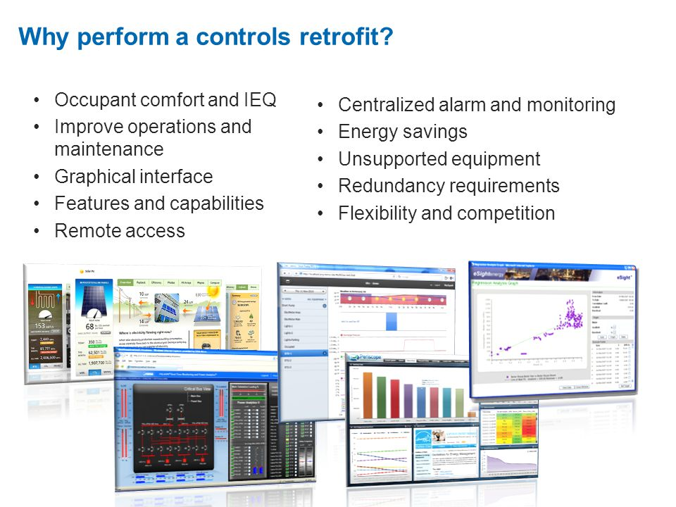 2. Why perform a controls retrofit.