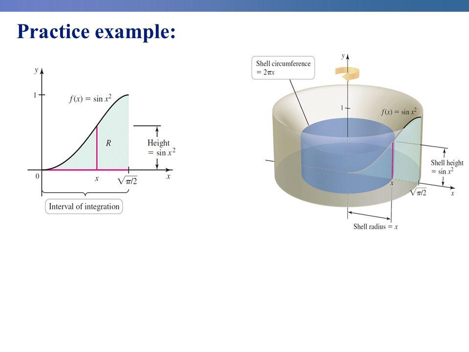 Practice example: