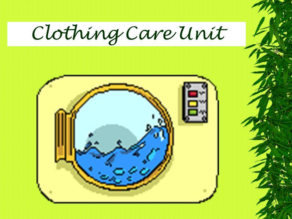 Clothing Care Unit
