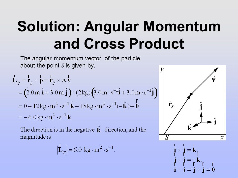 Group Problem: Angular Momentum and Circular Motion Consider a point particle of mass m moving in a circle of radius R with velocity.