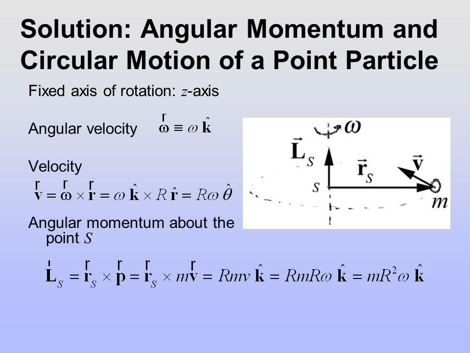 Fixed Axis Rotation : Kinematics Angle variable Angular velocity Angular acceleration Mass element Radius of orbit Moment of inertia Parallel Axis Theorem