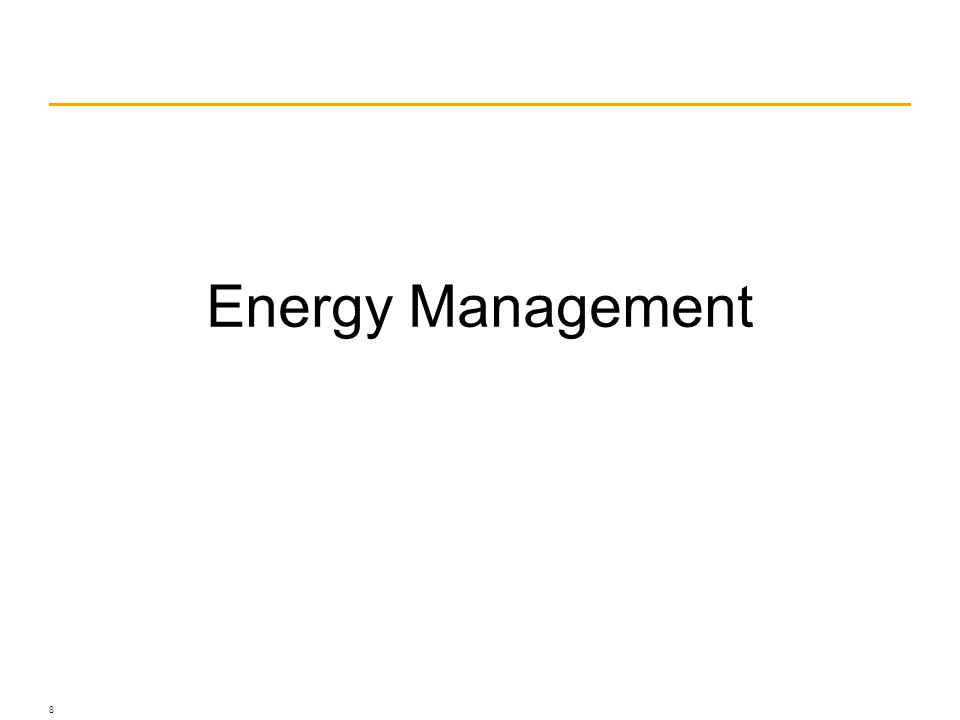 © Franke, www.franke.com Energy Management 8
