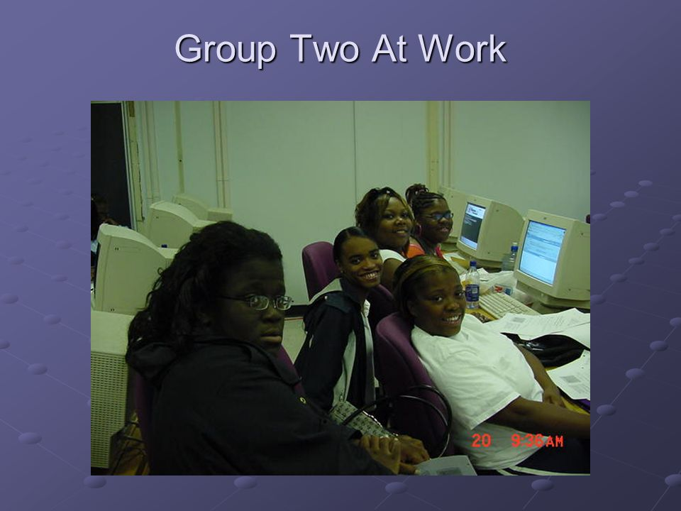 Group Two At Work