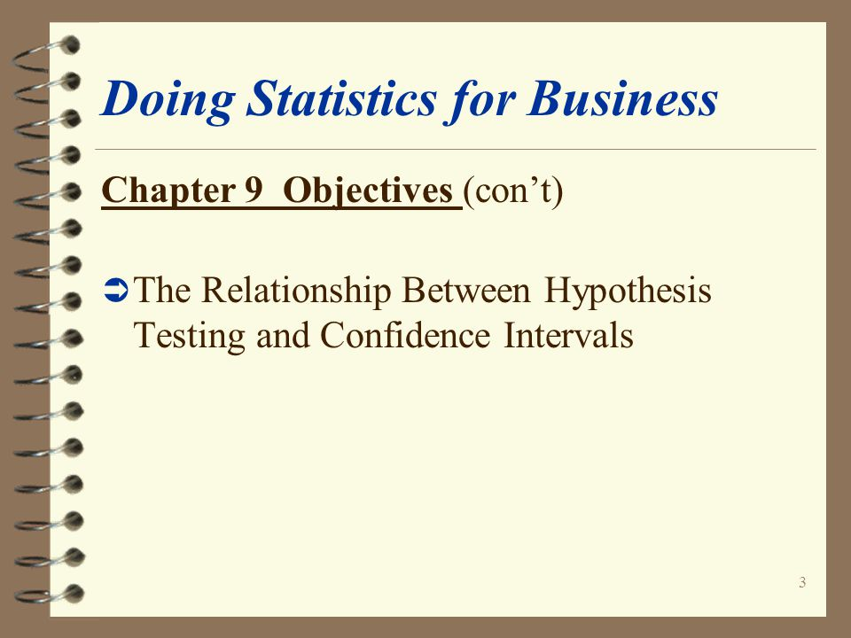 24 Doing Statistics for Business Small Sample Tests for the Population Mean in KaddStat 1.