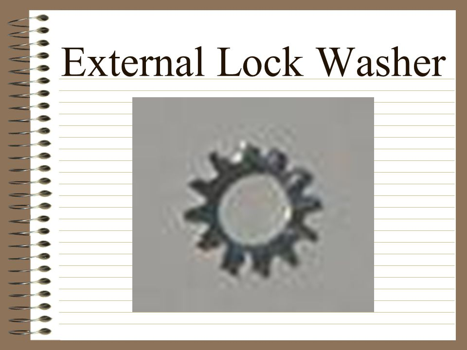External Lock Washer