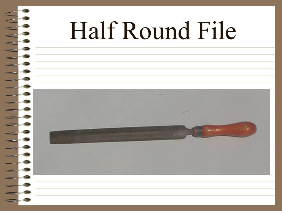 Half Round File