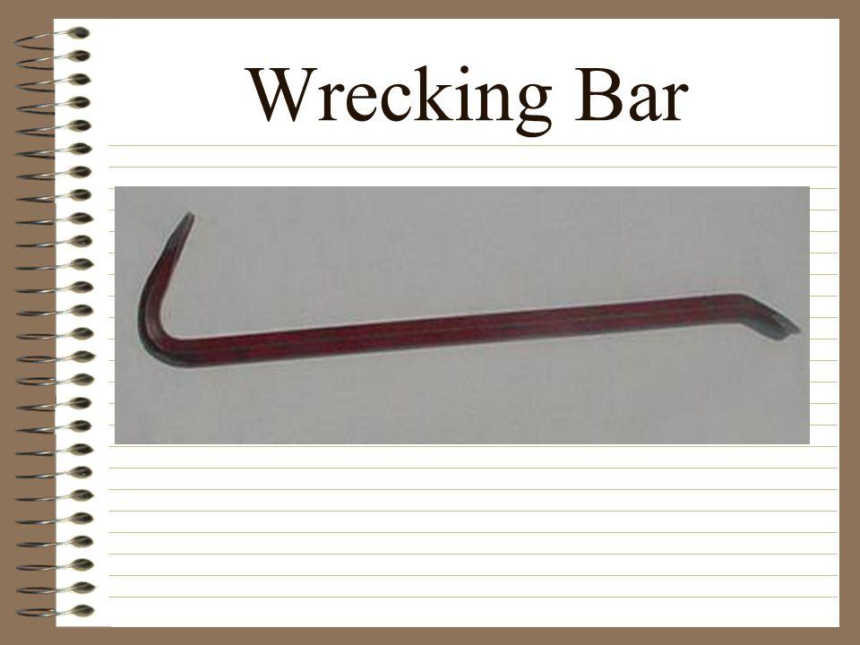 Wrecking Bar