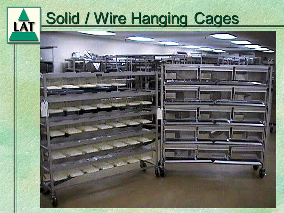 Chapter 6 Solid / Wire Hanging Cages