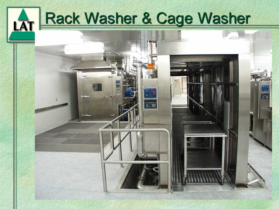 Chapter 6 Rack Washer & Cage Washer