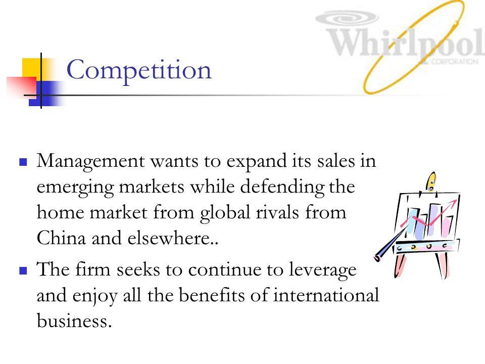 Competition Management wants to expand its sales in emerging markets while defending the home market from global rivals from China and elsewhere..