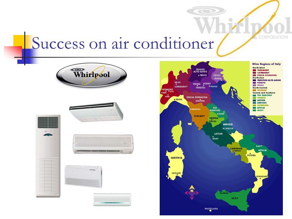 Success on air conditioner