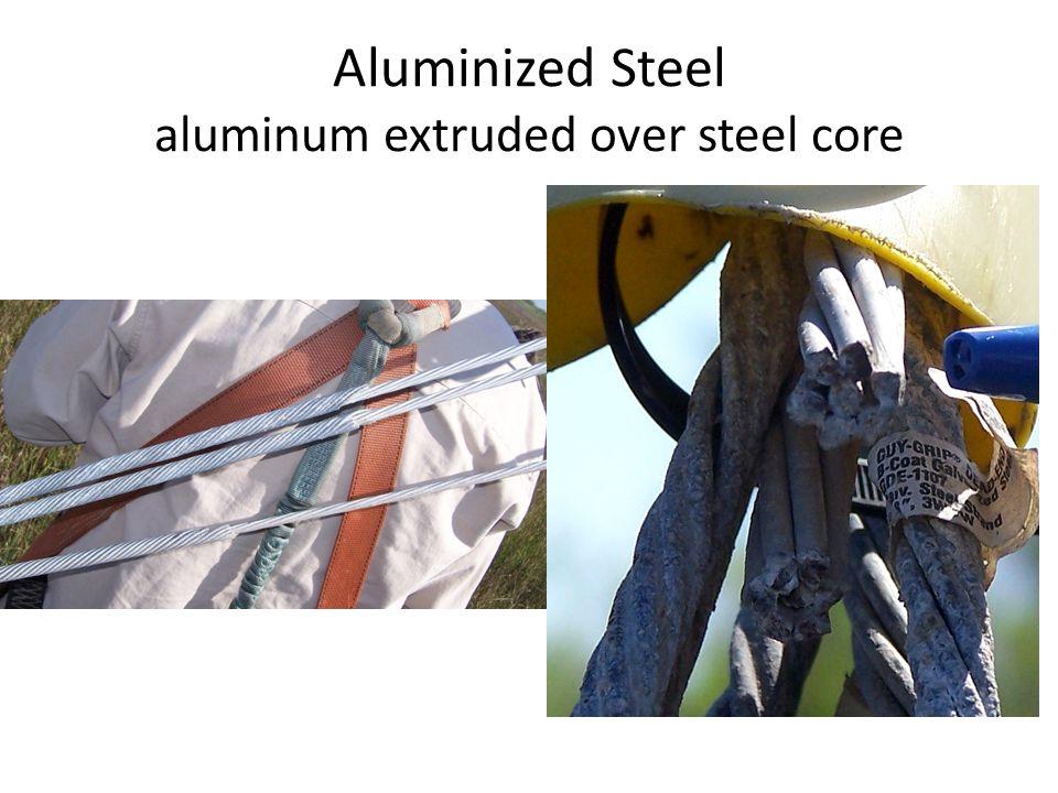 Aluminized Steel aluminum extruded over steel core