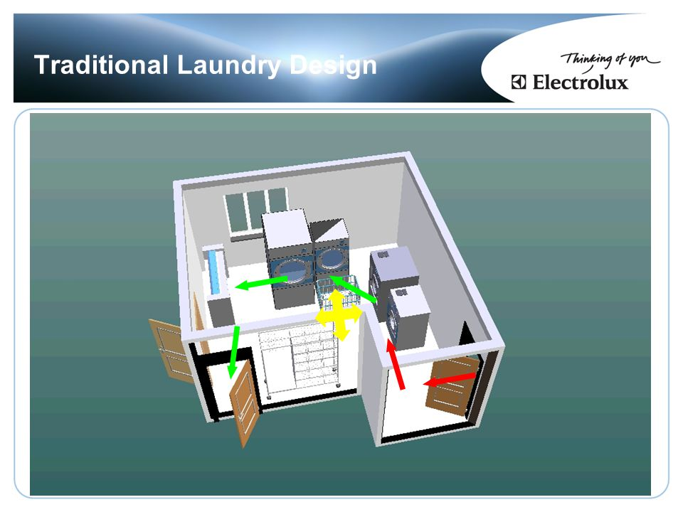 Traditional Laundry Design