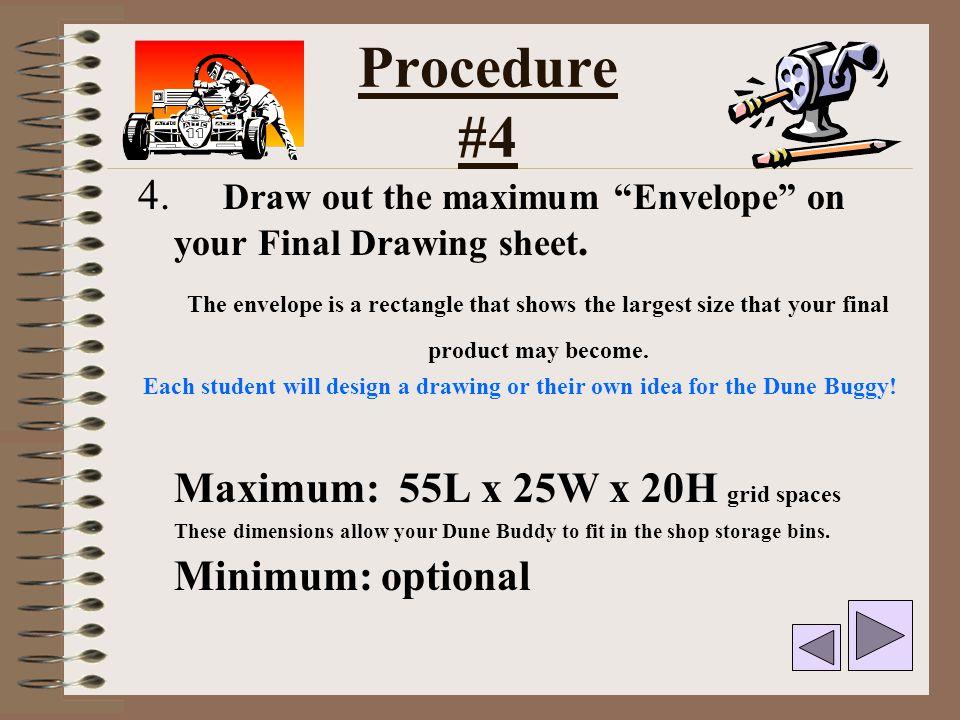 Drafting Envelope