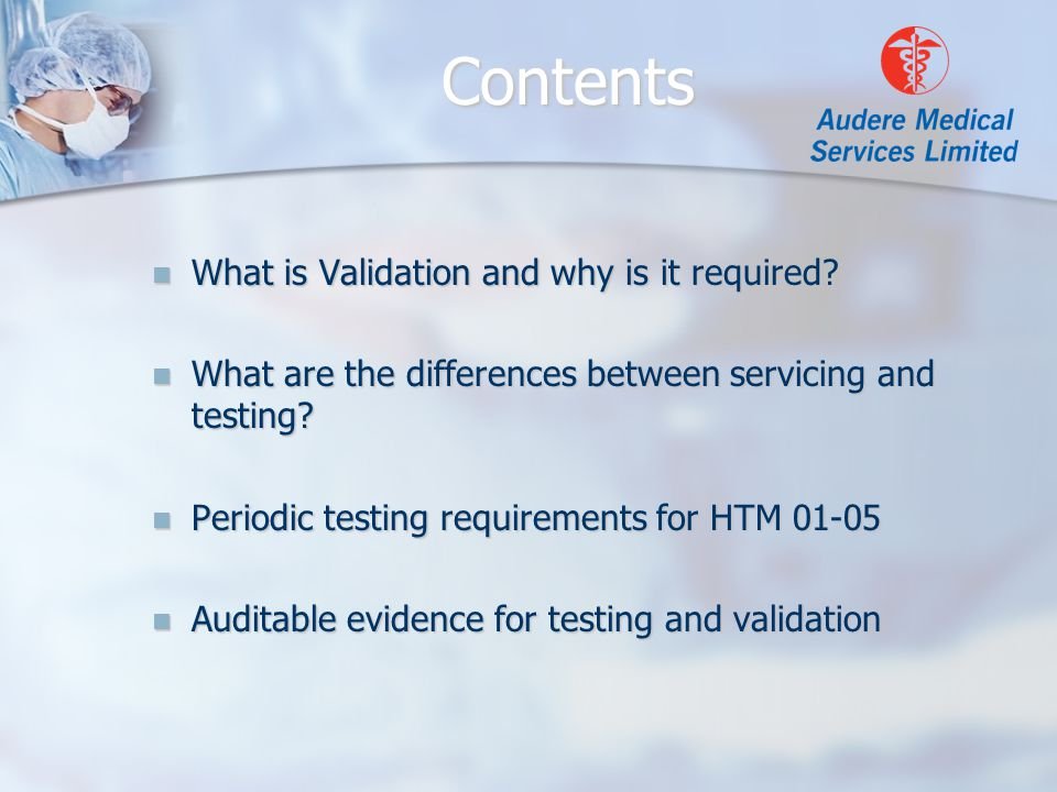 What is Validation and why is it required. What is Validation and why is it required.