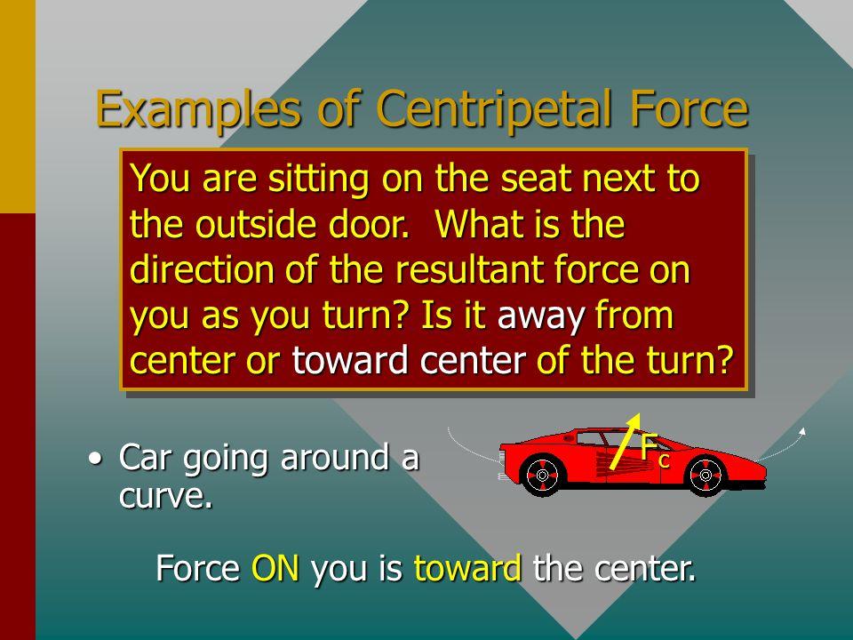 The Loop-the-Loop Same as cord, n replaces T AT TOP: n mg + AT BOTTOM: n mg + n = - mg mv 2 R n = + mg mv 2 R R v v