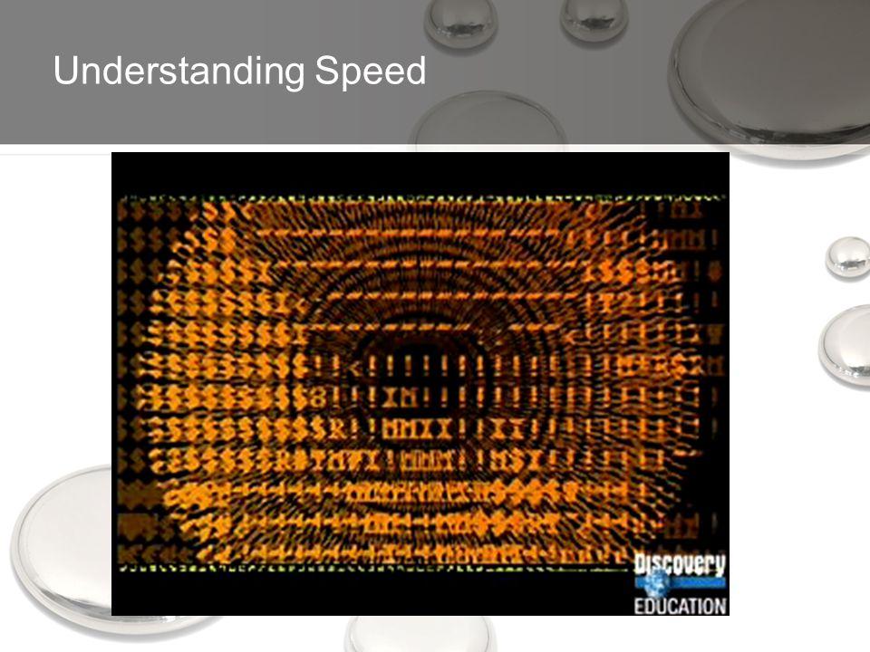 Understanding Speed
