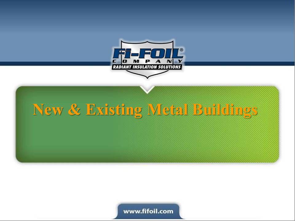 New & Existing Metal Buildings