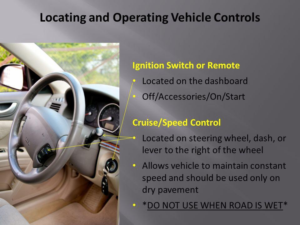 Airbag Warning Light Brake System Warning Light ABS Alert/Warning Light Control, Information, Comfort, and Safety Devices