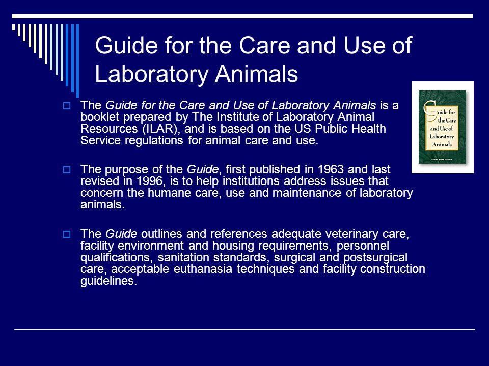 Commercial Animal Suppliers and Equipment  Quality research depends on the laboratory equipment and supplies as well as the animals used.
