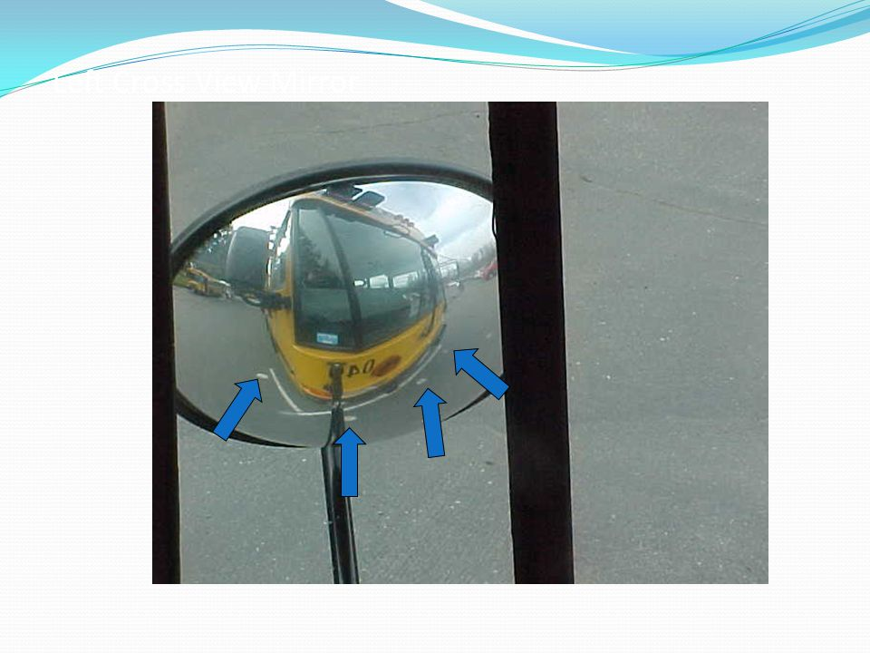 Left Cross View Mirror